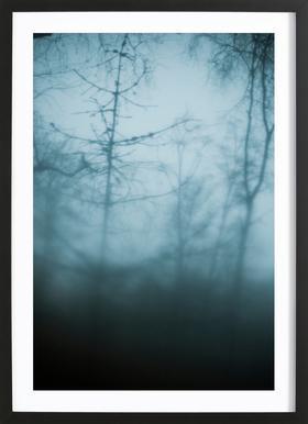 Naked Trees Framed Print
