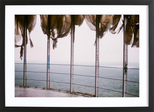 Lost Places II -Bild mit Holzrahmen