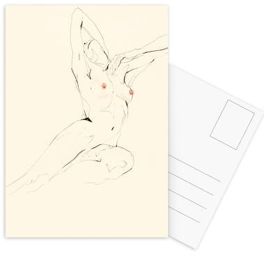 Eva -Postkartenset