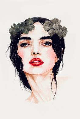 Freya -Acrylglasbild