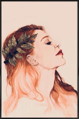 Josephine -Bild mit Kunststoffrahmen