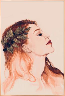 Josephine -Poster im Alurahmen