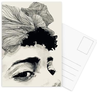 Look -Postkartenset