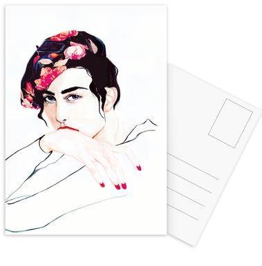 Madame Bruno -Postkartenset
