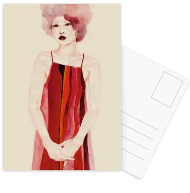 One Night -Postkartenset