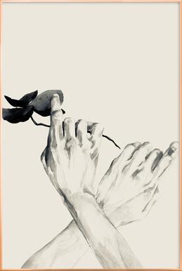 Pursuit -Poster im Alurahmen