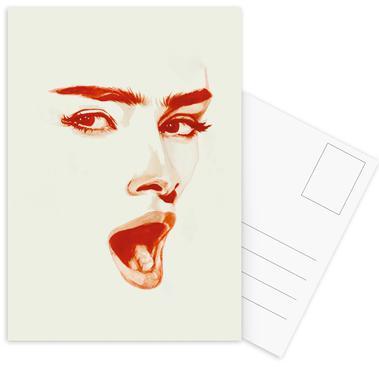 Surprise -Postkartenset