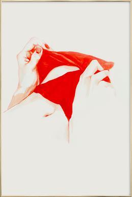 Underneath -Poster im Alurahmen