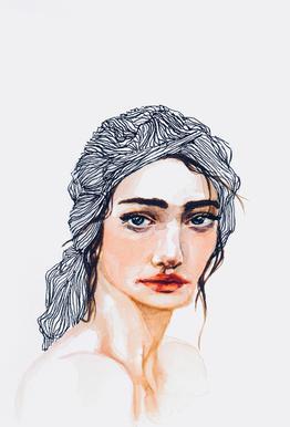 Amelie -Acrylglasbild