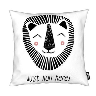 Just Lion Here! Kissen