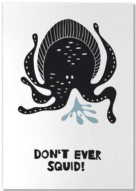 Don't Ever Squid! Bloc-notes