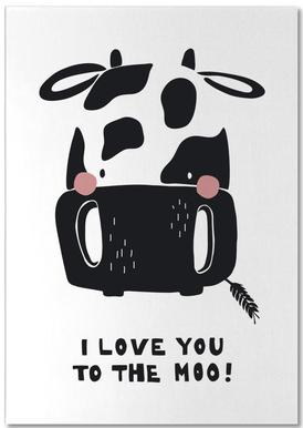 I Love You To The Moo. Bloc-notes