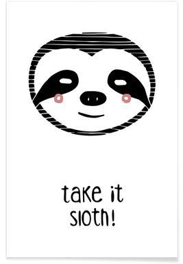 Take it Sloth! affiche