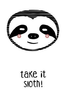 Take it Sloth! -Alubild