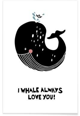 I Whale Always Love You! Affiche