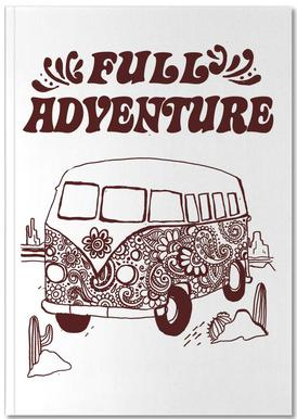 Full Adventure Notizbuch