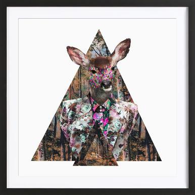 Bosque Framed Print