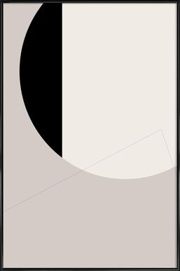 Black Side Poster in Standard Frame