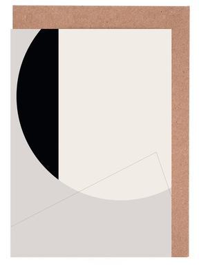 Black Side Grußkartenset
