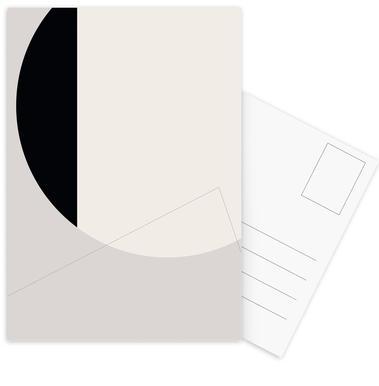 Black Side -Postkartenset