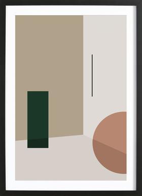 Separated 3 Framed Print
