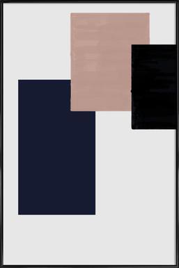 Three Different Ones Poster im Kunststoffrahmen