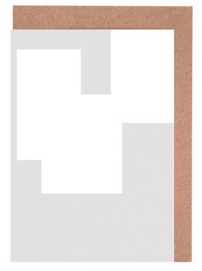 Three White Ones Greeting Card Set