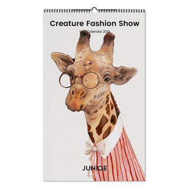 Creature Fashion Show 2019 wandkalender
