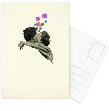 First Kiss Postcard Set