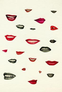 Stealing Kisses Acrylic Print