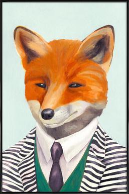 Mister Fox Framed Poster