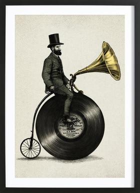 Music Man ingelijste print