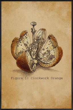 A Clockwork Orange ingelijste poster