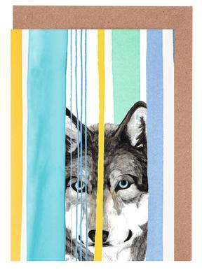 Dreamy Wolf Greeting Card Set