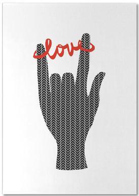 I Love You 2 Bloc-notes