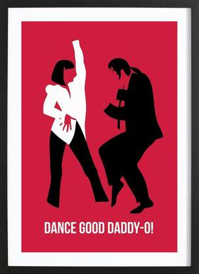 Dance Good Poster 2 Framed Print