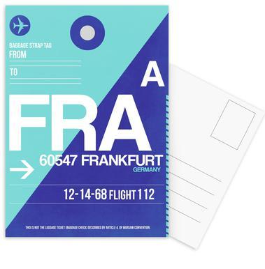FRA-Frankfurt cartes postales