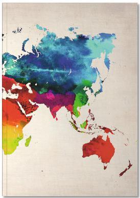 World Map Notitieboekje