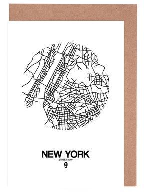 New York wenskaartenset