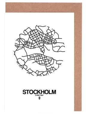 Stockholm Grußkartenset