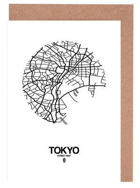 Tokyo wenskaartenset