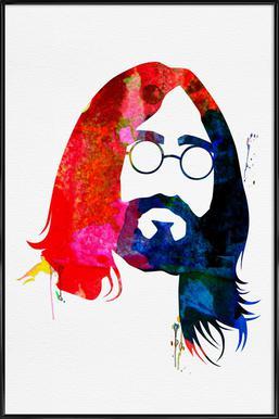 John Poster im Kunststoffrahmen