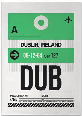 Dublin -Notizblock