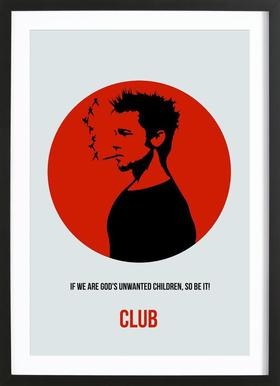 Club Poster 2 Framed Print