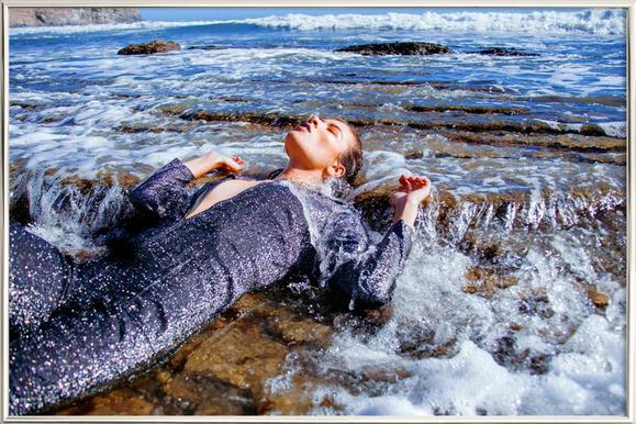 Tide Pools -Poster im Alurahmen