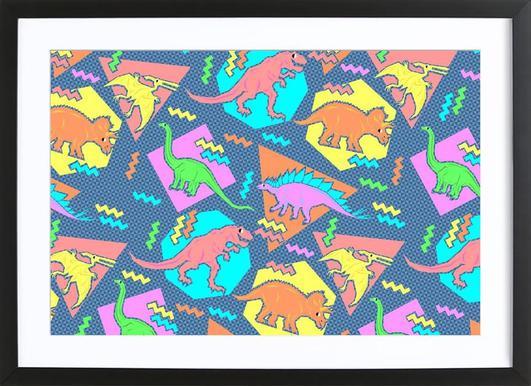 buy framed dinosaur prints and art online juniqe uk