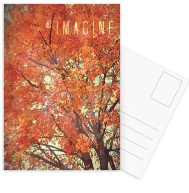 Imagine Set de cartes postales