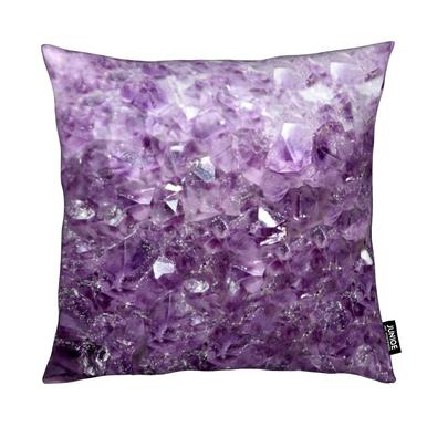 Amethyst Sparks Coussin