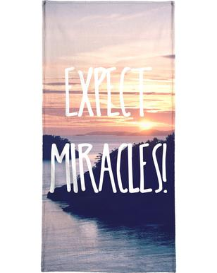 Expect Miracles Beach Towel