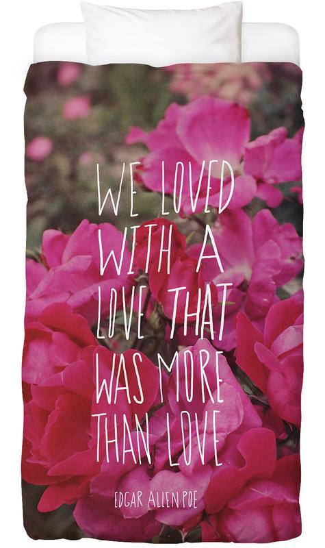 Poe Love Bettwäsche   Heimtextilien > Bettwäsche und Laken > Bettwäsche-Garnituren   Mehrfarbig   Baumwolle